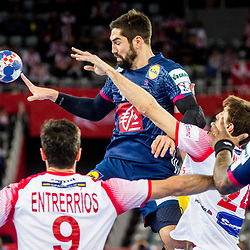 20180126: CRO, Handball - EHF Euro Croatia 2018 - France vs Spain