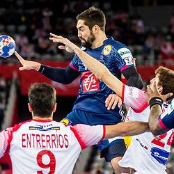 20180126: CRO, Handball - EHF Euro Croatia 2018 - France vs Spain