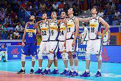 ITALIA ASPETTA IL CHALLENGE<br /> ITALIA - ARGENTINA<br /> PALLAVOLO VNL VOLLEYBALL NATIONS LEAGUE 2019<br /> MILANO 22-06-2019<br /> FOTO GALBIATI -  RUBIN