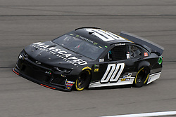 March 1, 2019 - Las Vegas, NV, U.S. - LAS VEGAS, NV - MARCH 01: Landon Cassill (00) StarCom Racing Chevrolet Camaro ZL1 drives through turn four during practice for the Monster Energy NASCAR Cup Series 22nd Annual Pennzoil 400 on March 1, 2019, at the Las Vegas Motor Speedway in Las Vegas, Nevada. (Photo by Michael Allio/Icon Sportswire) (Credit Image: © Michael Allio/Icon SMI via ZUMA Press)