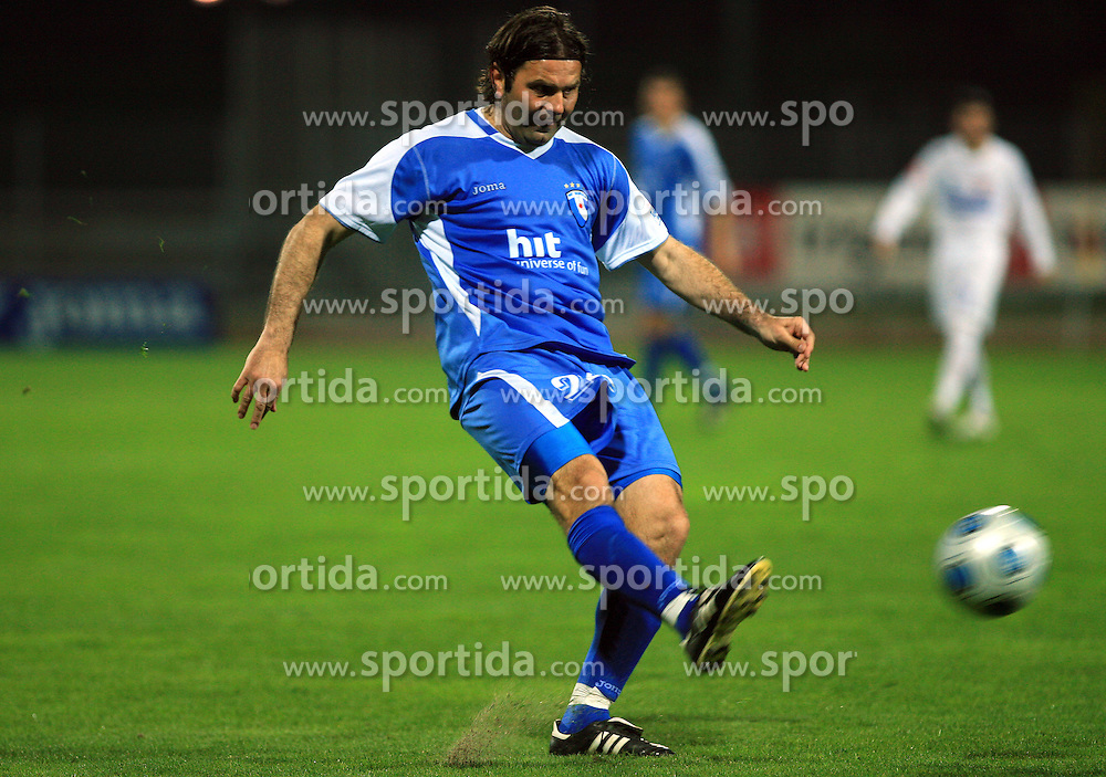 Enes Demirovic of Hit Gorica at 27th Round of Slovenian First League football match between ND Hit Gorica and NK Primorje Ajdovscina in Sports park Nova Gorica, on April 8, 2009, in Nova Gorica, Slovenia. (Photo by Vid Ponikvar / Sportida)