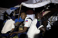 Haitian National Police attempted to restore order after city-wide protests brough the Haitian capital to a standstill. Protesters took to the streets almost immediately after prelimanary election results were announced.