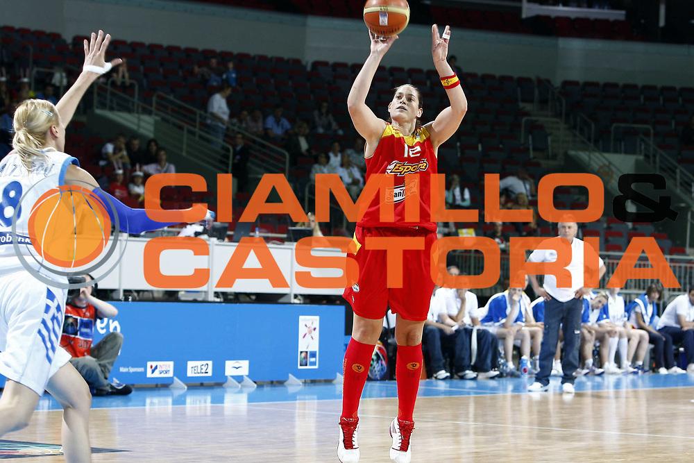 DESCRIZIONE : Riga Latvia Lettonia Eurobasket Women 2009 Qualifying Round Grecia Greece<br /> GIOCATORE : Anna Montanana<br /> SQUADRA : Spagna Spain<br /> EVENTO : Eurobasket Women 2009 Campionati Europei Donne 2009 <br /> GARA : Grecia Spagna Greece Spain<br /> DATA : 11/06/2009 <br /> CATEGORIA : tiro<br /> SPORT : Pallacanestro <br /> AUTORE : Agenzia Ciamillo-Castoria/E.Castoria<br /> Galleria : Eurobasket Women 2009 <br /> Fotonotizia : Riga Latvia Lettonia Eurobasket Women 2009 Qualifying Round Grecia Spagna Greece Spain<br /> Predefinita :
