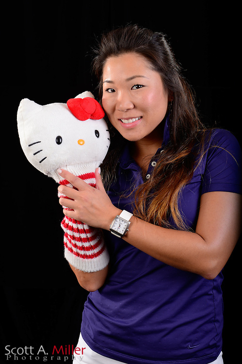 Kitty Hwang during a portrait session prior to the Symetra Tour's Florida's Natural Charity Classic at the Lake Region Yacht and Country Club on Mar 19, 2013  in Winter Haven, Florida. ..©2013 Scott A. Miller