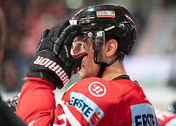 13.04.2019, Keine Sorgen Eisarena, Linz, AUT, Euro Hockey Challenge, Österreich vs Tschechien, Länderspiel, im Bild Stürmer Fabio Hofer (AUT) // during the international friendly match between Austria and Czech Republic, as part of the Euro Hockey Challenge at the Keine Sorgen Eisarena in Linz, Austria on 2019/04/13. EXPA Pictures © 2019, PhotoCredit: EXPA/ Reinhard Eisenbauer