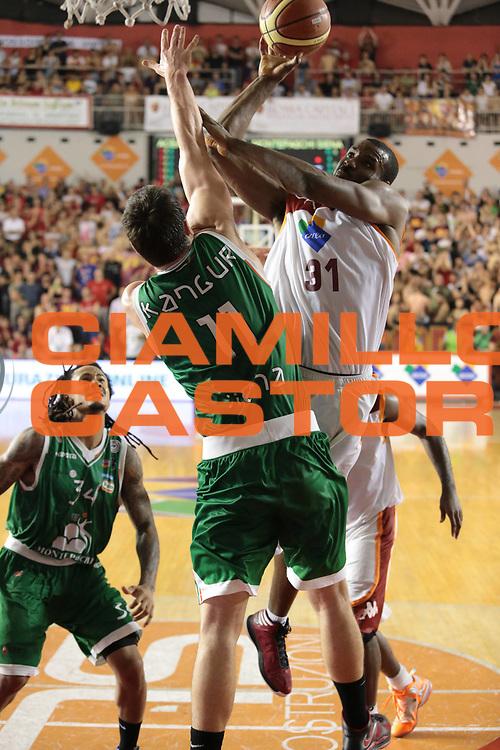DESCRIZIONE : Roma Lega A 2012-2013 Acea Roma Montepaschi Siena finale gara 5<br /> GIOCATORE : Lawal Gani<br /> CATEGORIA : tiro<br /> SQUADRA : Acea Roma<br /> EVENTO : Campionato Lega A 2012-2013 playoff finale gara 5<br /> GARA : Acea Roma Montepaschi Siena<br /> DATA : 19/06/2013<br /> SPORT : Pallacanestro <br /> AUTORE : Agenzia Ciamillo-Castoria/M.Simoni<br /> Galleria : Lega Basket A 2012-2013  <br /> Fotonotizia : Roma Lega A 2012-2013 Acea Roma Montepaschi Siena playoff finale gara 5<br /> Predefinita :
