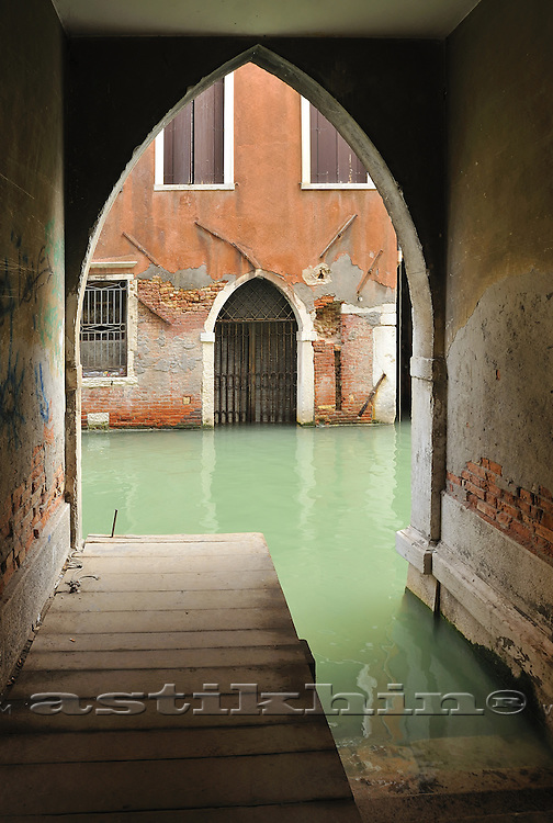 Water of Venetian canal