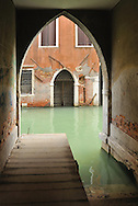 Water of Venetian canal