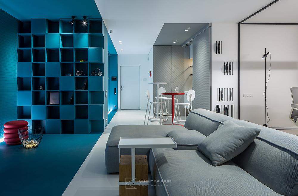 Интерьерная фотосъемка частных апартаментов.<br /> Дизайн интерьера: Юлия Кульгавая