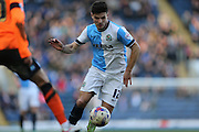 Ben Marshall, Blackburn Rovers midfielder during the Sky Bet Championship match between Blackburn Rovers and Brighton and Hove Albion at Ewood Park, Blackburn, England on 21 March 2015.