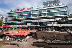 The Europa Center shopping centre in Charlottenburg Berlin Germany