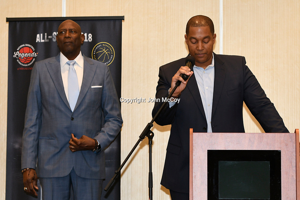 The National Basketball Retired Players Association meets in Los Angeles, CA 1/16/2018 (Photo by John McCoy)
