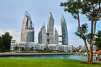 Singapour, complexe residentiel Reflections at Keppel Bay par l'architecte americain Daniel Libeskind // Singapore, residentiel building Reflections at Keppel Bay by Americain architect Daniel Libeskind