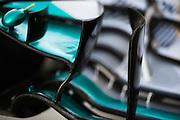 November 21-23, 2014 : Abu Dhabi Grand Prix, Mercedes  wing detail