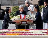 Emperor Akihito & Empress Michiko Ceremonial Welcome India
