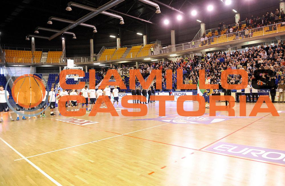 DESCRIZIONE : Vigevano LegaDue All Star Game Eurobet 2013 Est Ovest<br /> GIOCATORE :<br /> SQUADRA : Est<br /> EVENTO : LegaDue All Star Game Eurobet 2013<br /> GARA :  All Star Game Eurobet 2013 Est Ovest<br /> DATA : 03/02/2013<br /> CATEGORIA : Presentazione Inno Nazionale<br /> SPORT : Pallacanestro<br /> AUTORE : Agenzia Ciamillo-Castoria/A.Giberti<br /> Galleria : LegaDue All Star Game Eurobet 2013<br /> Fotonotizia : Vigevano LegaDue All Star Game Eurobet 2013 Est Ovest <br /> Predefinita :