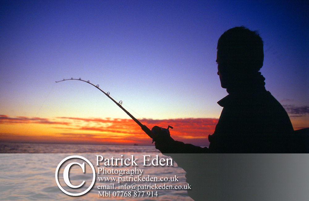Boat Fishing The Solent Isle of Wight England UK photography photograph canvas canvases