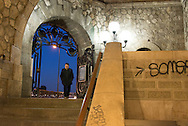 France. Paris  7th district. the entrance of the subway station invalides under the Pont Alexandre-III bridge.