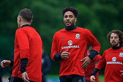CARDIFF, WALES - Thursday, June 8, 2017: Wales' captain Ashley Williams during a training session at the Vale Resort ahead of the 2018 FIFA World Cup Qualifying Group D match against Serbia. (Pic by David Rawcliffe/Propaganda)