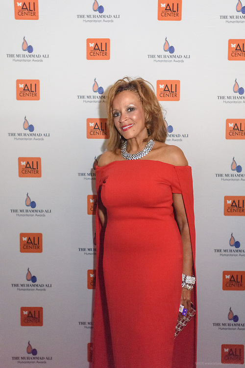 On the red carpet at the fourth annual Muhammad Ali Humanitarian Awards Saturday, Sept. 17, 2016 at the Marriott Hotel in Louisville, Ky. (Photo by Brian Bohannon for the Muhammad Ali Center)