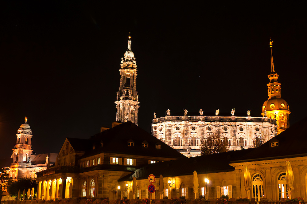 Hofkirche (Dresden Cathedral), Dresden, Saxony, Germany
