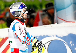 27.01.2015, Planai, Schladming, AUT, FIS Skiweltcup Alpin, Schladming, 2. Lauf, im Bild Alexis Pinturault (FRA) // Alexis Pinturault (FRA) during the second run of the men's slalom of Schladming FIS Ski Alpine World Cup at the Planai Course in Schladming, Austria on 2015/01/27, EXPA Pictures © 2015, PhotoCredit: EXPA/ Erwin Scheriau