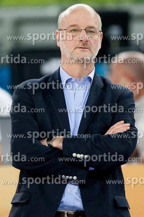Henrik Dettmann, head coach of Finland during basketball match between National teams of Finland and Slovenia in 2nd Round at Day 13 of Eurobasket 2013 on September 14, 2013 in SRC Stozice, Ljubljana, Slovenia. (Photo By Urban Urbanc / Sportida)