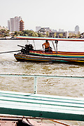Crossing the Chao Phraya river to Lhong 1919