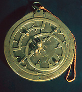 SPAIN, AGE OF EXPLORATION Navigation, an Astrolabe, from the  13th century