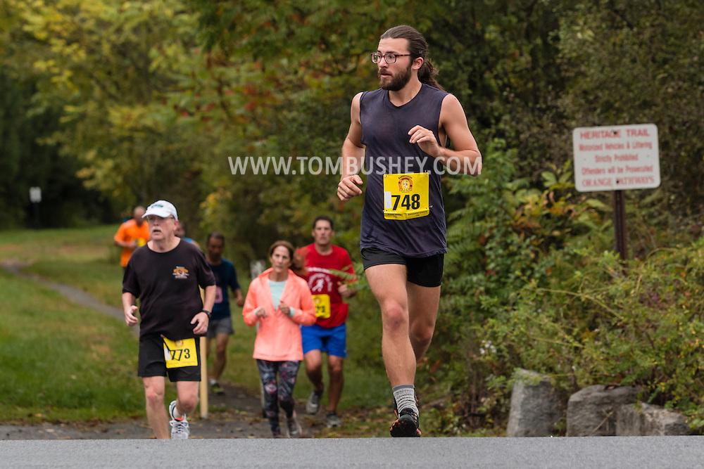 Goshen, New York - Runners in the Hambleonian Marathon on Oct. 2, 2016.