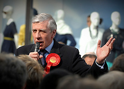 Jack Straw campaigning in Reading Town Centre this afternoon..