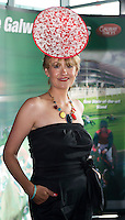 Irish milliner and jewellery designer Emily-Jean O'Byrne at the launch of The Galway Races 2016 Summer Festival which runs from the 25th of July to the 31st of July in Galway City. Photo: Andrew Downes :
