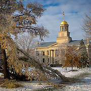 The University of Iowa Campus in Iowa City, IA.