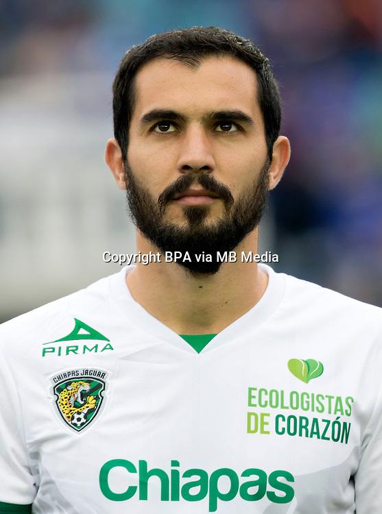 Mexico League - BBVA Bancomer MX 2015-2016 - <br /> Jaguares - Jaguares de Chiapas Futbol Club / Mexico - <br /> Emiliano Daniel Armenteros