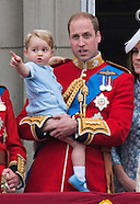 Prince George Makes Trooping Appearance