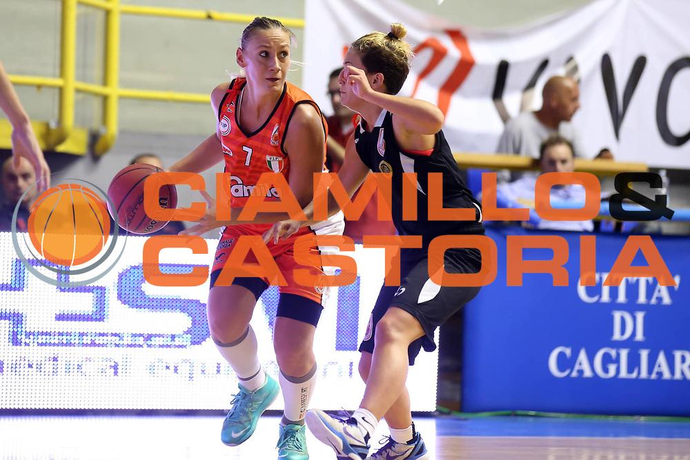 DESCRIZIONE : Cagliari Lega A1 Femminile 2013-14 Opening Day 2013 Famila Wuber Schio CUS Chieti<br /> GIOCATORE : Katalin Honti<br /> SQUADRA : Famila Wuber Schio CUS Chieti<br /> EVENTO : Campionato Lega A1 Femminile 2013-2014 <br /> GARA : Famila Wuber Schio CUS Chieti<br /> DATA : 13/10/2013<br /> CATEGORIA : <br /> SPORT : Pallacanestro <br /> AUTORE : Agenzia Ciamillo-Castoria/ElioCastoria<br /> Galleria : Lega Basket Femminile<br /> 2013-2014 <br /> Fotonotizia : Cagliari Lega A1 Femminile 2012-13 Opening Day 2013 Famila Wuber Schio CUS Chieti<br /> Predefinita :