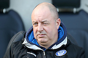 Rochdale Manager Keith Hill during the Sky Bet League 1 match between Coventry City and Rochdale at the Ricoh Arena, Coventry, England on 5 March 2016. Photo by Chris Wynne.