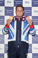 LONDON - SEPTEMBER 05: Aled Davies attended the Paralympic Ball 2012, Grosvenor House Hotel, London, UK. September 05, 2012. (Photo by Richard Goldschmidt)