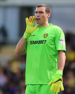 Stephen Bywater of Burton Albion during the Sky Bet Championship match at the Pirelli Stadium, Burton upon Trent<br /> Picture by Mike Griffiths/Focus Images Ltd +44 7766 223933<br /> 05/08/2017