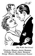 My Wife's Best Friend ;  Anne Baxter , Leif Erikson and Macdonald Carey