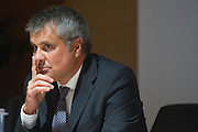 Roma sep 24th 2015, debate on justice and business. In the picture Paolo Ielo
