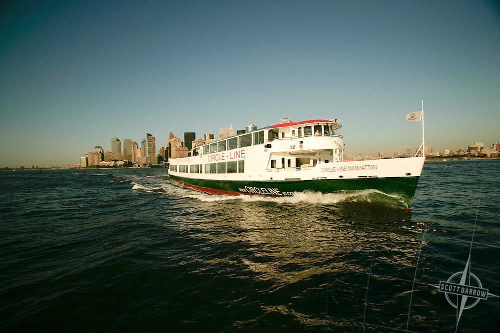 The Circle Line ship Manhattan joins the fleet.