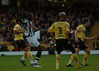 Photo: Tony Oudot/Sportsbeat Images.<br /> Watford v West Bromwich Albion. Coca Cola Championship. 03/11/2007.<br /> Ishmael Miller of West Brom scores the first goal