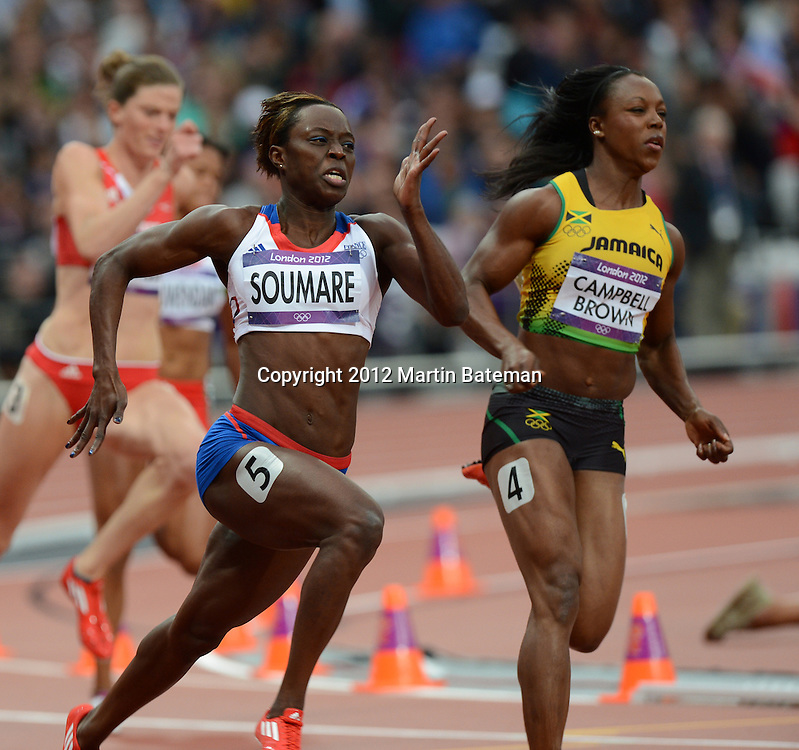 August 6th 2012. Olympic athletics action
