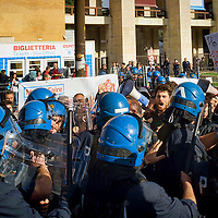 Maker Faire 2015 protesta degli studenti