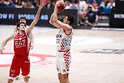 Gaspardo Raphael, EA7 EMPORIO ARMANI OLIMPIA MILANO vs THE FLEXX PISTOIA, 29^ Campionato Lega Basket Serie A 2017/2018, Mediolanum Forum Assago (MI) 6 maggio 2018 - FOTO: Bertani/Ciamillo