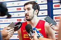 Guillem Vives during the Spain training session before EuroBasket 2017 in Madrid. August 02, 2017. (ALTERPHOTOS/Borja B.Hojas)