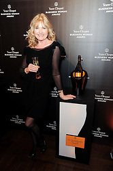 DEBBIE MOORE at the presentation of the Veuve Clicquot Business Woman Award 2010 held at the Institute of Contemporary Arts, 12 Carlton House Terrace, London on 23rd March 2010.  The winner was Laura Tenison - Founder and Managing Director of JoJo Maman Bebe.