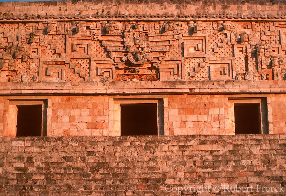 MEXICO, MAYAN, YUCATAN Uxmal; famous 'Governor's Palace'