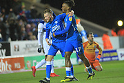 GOAL George Cooper celebrates 2-0  during the EFL Sky Bet League 1 match between Peterborough United and Rochdale at London Road, Peterborough, England on 12 January 2019.